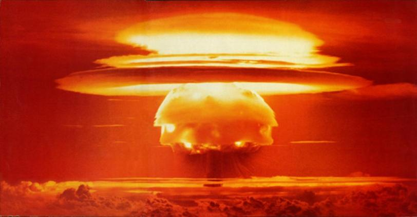 atomic bomb blast - is nuclear power safe?